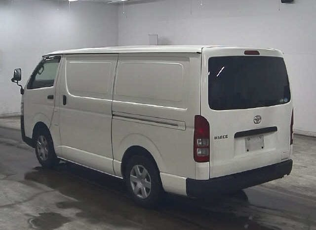 Toyota Hiace Panel Van 2016 full